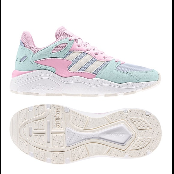 New Adidas Chaos Running Shoe In Pastel
